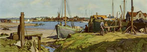 Brightlingsea, Essex by Leonard Russell Squirrell