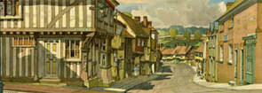 Saffron Walden, Essex by F W Baldwin
