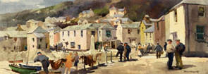 Mousehole, Cornwall by Jack Merriott