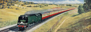 Atlantic Coast Express to West Country by Richard Ward