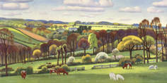 Cornish Vale by Adrian Allinson