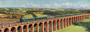 Direct Electric Services [Ouse Viaduct] by Richard Ward