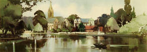 Marlow, Buckinghamshire by Claude Buckle