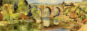 Knaresborough, River Nidd by Jack Merriott