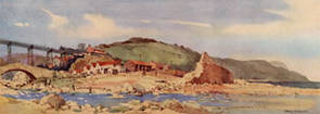 Sandsend, nr Whitby, Yorkshire by Jack Merriott