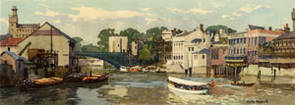 York, River Ouse by Gyrth Russell